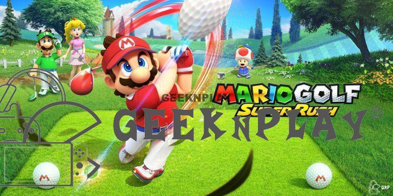 TEST – Mario Golf: Super Rush