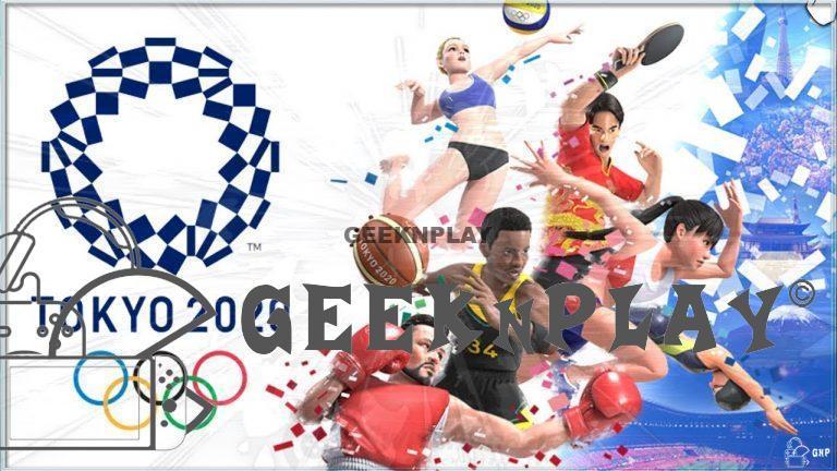 TEST – Jeux Olympiques de Tokyo 2020 – Le jeu vidéo officiel